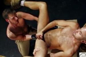 Brian Bonds & Zack Taylor  ass fisting scene